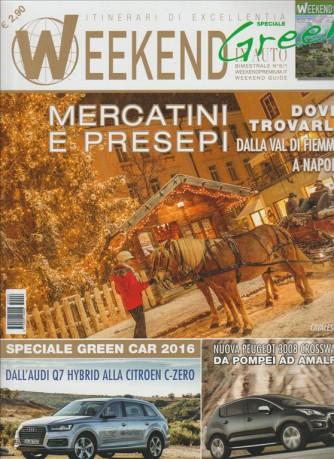 Weekend Geen In Auto Bimestrale n.6 Dicembre2015/Gennaio 2016