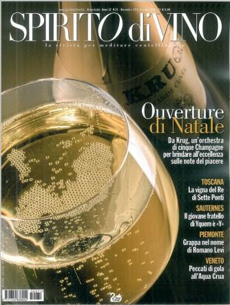 Spirito Di Vino-La rivista per meditare centellinando n. 71 Dic.2015/Gen.2016