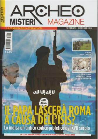 ARCHEO MISTERI magazine: mensile n. 14 dicembre 2015