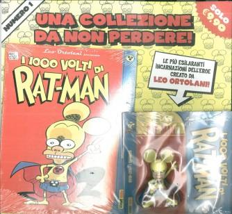 """Leo Ortolani Presenta """"I 1000 Volti di Ratman"""" vol. 1 - Panini Comics"""