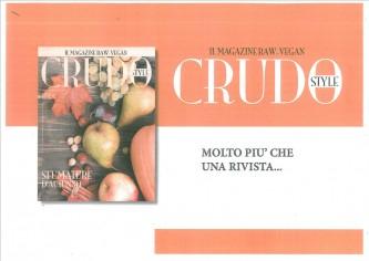 Abbonamento 6 uscite a CRUDO Style - il Magazine RAW-VEGAN per l'anno 2016
