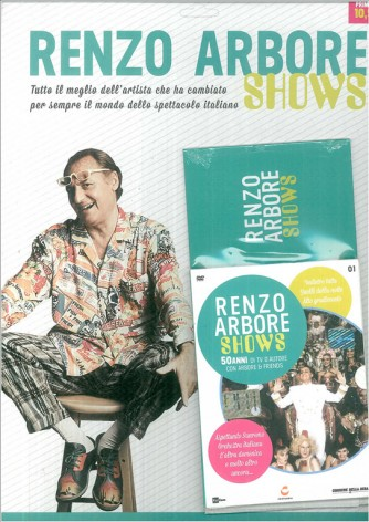 DVD vol.1 Renzo Arbore Shows - 50 ani di tv d'autore con Arbore & friends