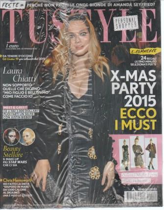 TU STYLE - settimanale n. 50 - 14 Dicembre 2015