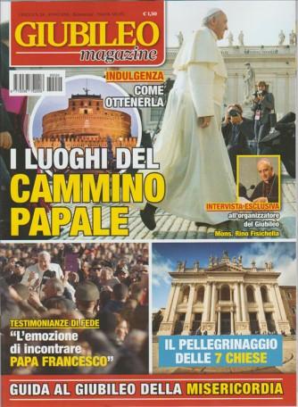 Giubileo Magazine - Bimestrale n. 24 Dic. 2015