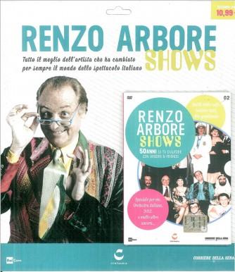 DVD Renzo Arbore Shows vol.1 by Corriere della Sera
