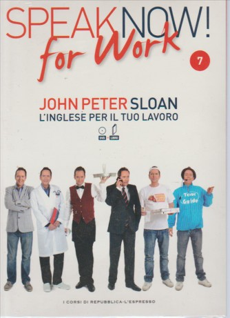 Corso di Inglese DVD+libro SPEAK NOW FOR WORK 7° vol.-by Repub./l'Espresso