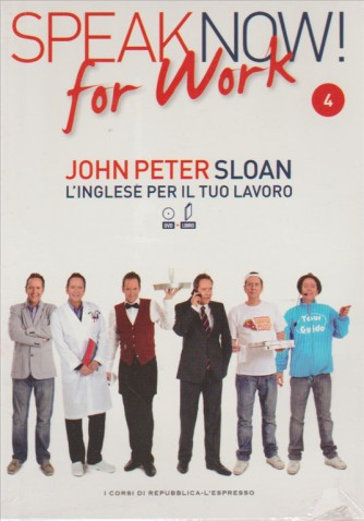 Corso di Inglese DVD+libro SPEAK NOW FOR WORK 4° vol.-by Repub./l'Espresso