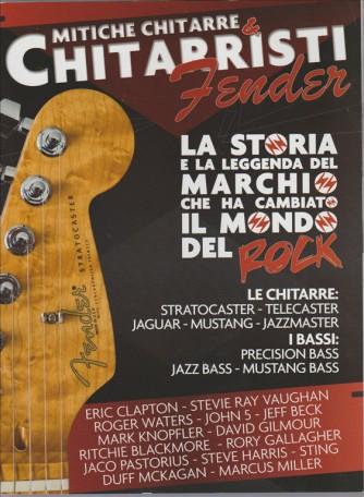 Fender Mitiche chitarre & chitarristi