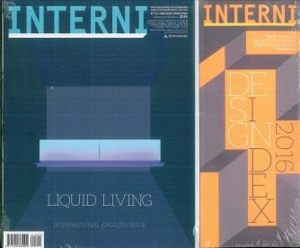 INTERNI mensile n.1/2 Gen./Feb.2016 + Design Index 2016