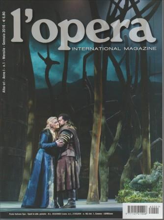 L'OPERA international Magazine n. 1 GENNAIO 2016