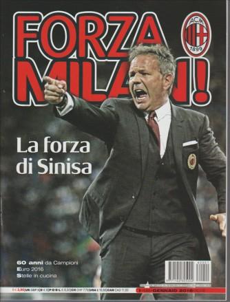 Forza Milan  - mensile n. 585 Gennaio 2016