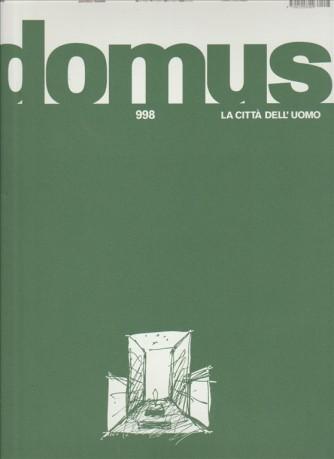 DOMUS la città dell'uomo - mensile n. 998 Gennaio 2016