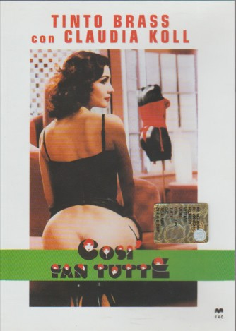 Così fan tutte Franco Branciaroli, Claudia Koll, Paolo Lanza, Tinto Brass (DVD)