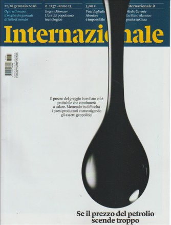Internazionale - Settimanale n. 1137 - 22 Gennaio 2016