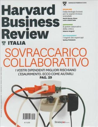HARWARD BUSINESS REVIEW Italia - mensile n. 16 Gen.2016