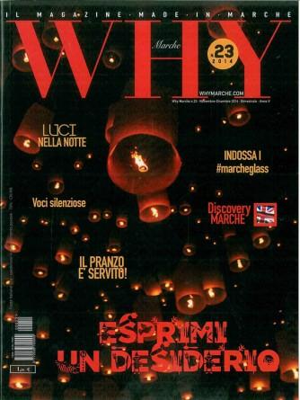 WHY MARCHE - il magazine made in MARCHE (regione)