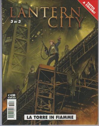 """Cosmo Serie Pocket - Lantern City vol. 3 di 3 """"La torre in fiamme"""""""
