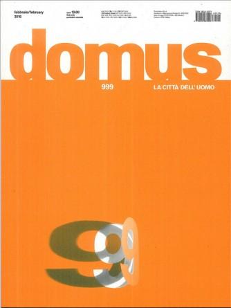 DOMUS - la città dell'Uomo - mensile n. 999 Febbraio 2016