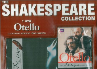 DVD OTELLO con A.Hopkins e B.Hoskins -The Shakespeare Collection 1° uscita