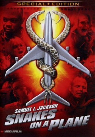 Snakes On A Plane - Byron Lawson, Nathan Phillips, David R. Ellis - DVD