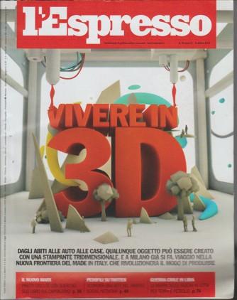 L'ESPRESSO - settimanale n. 40 - 5 Ottobre 2014