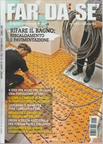 FAR DA SE . N. 455 ANNO 41 ARTIGIANI DEL TEMPO LIBERO. OTTOBRE 2015