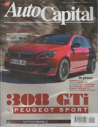 Auto Capital - mensile n. 11 - Novembre 2015