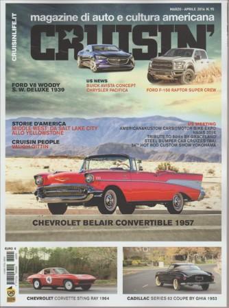 CRUISIN'. MAGAZINE DI AUTO E CULTURA AMERICANA. MARZO - APRILE 2016 N. 95