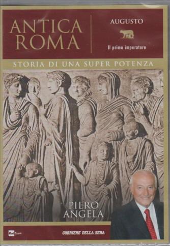 """3° DVD ANTICA ROMA. Augusto """"il primo Imperatore"""" di Piero Angela"""