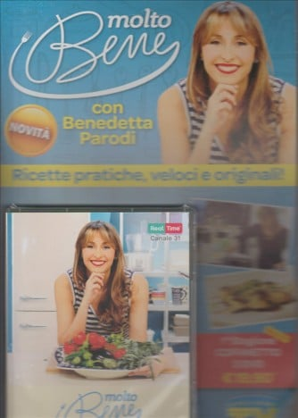 MOLTO BENE. CON BENEDETTA PARODI. RICETTE PRATICHE, VELOCI E ORIGINALI!  PRIMA STAGIONE COFANETTO 3 DVD