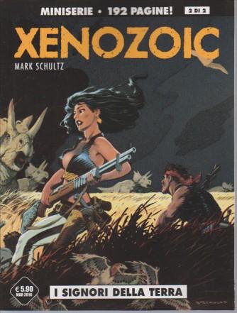 """XENOZOIC vol. 2 di 2 """" I Signori della Terra"""" miniserie editoriale Cosmo"""
