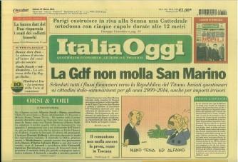 Italia Oggi - quotidiano di Sabato 19 Marzo 2016