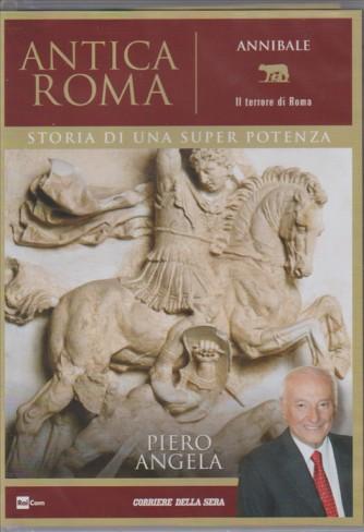 """5° DVD ANTICA ROMA. ANNIBALE """"il terrore di Roma"""" di Piero Angela"""