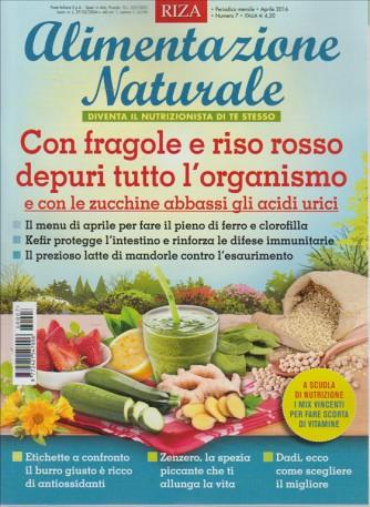 ALIMENTAZIONE NATURALE. DIVENTA IL NUTRIZIONISTA DI TE STESSO. APRILE 2016. N. 7