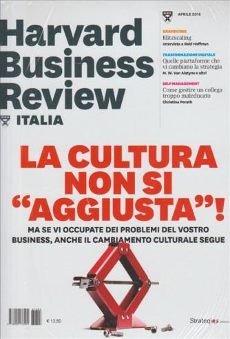 HARVARD BUSINESS REVIEW ITALIA. APRILE 2016 N. 4