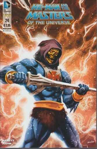 He-Man and the Masters of the Universe 24 - DC Comics Lion
