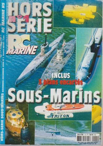 HORS SERIE RC MARINE N. 1 NOVEMBRE DICEMBRE 2004 IN FRANCESE