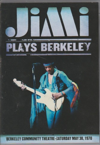DVD Jimi Hendrix-Jimi Plays Berkeley usato