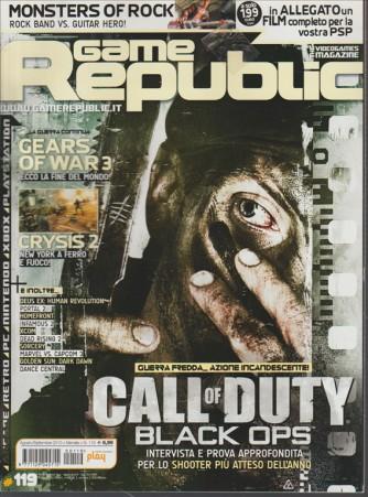 Game Republic - mensile n. 119 Agosto 2010