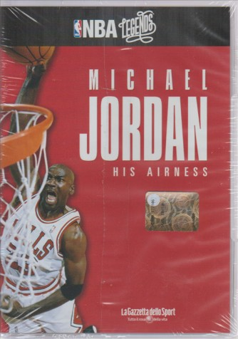 NBA LEGENDS. MICHAEL JORDAN HIS AIRNESS.  N. 3