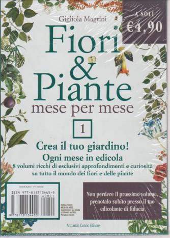FIORI  &   PIANTE MESE PER MESE. N. 1  DI GIGLIOLA MAGRINI