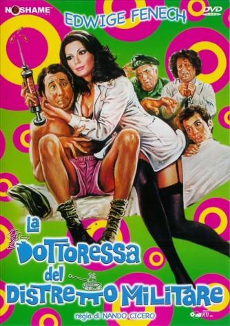 LA DOTTORESSA DEL DISTRETTO MILITARE - Alvaro Vitali (DVD)