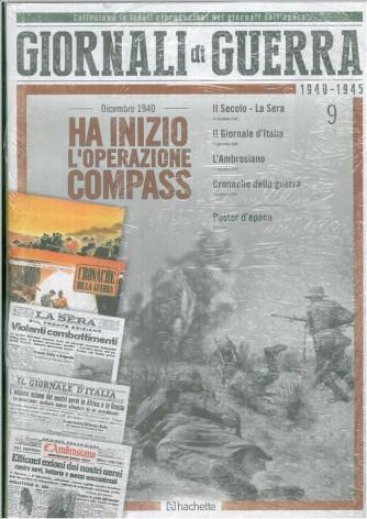 GIORNALI DI GUERRA 1940 - 1945 - N.11 - MUSSOLINI DA HITLER 19 - 20 GENNAIO 1941