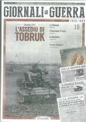 GIORNALI DI GUERRA 1940 - 1945 - N.10 - GENNAIO 1941 L'ASSEDIO DI TOBRUK