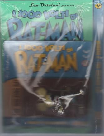 """I MILLE VOLTI DI RAT-MAN 6 con statuina da collezione  """"THE WALKING RAT"""""""