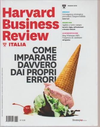 HARVARD BUSINESS REVIEW ITALIA. N. 5 MAGGIO 2016.