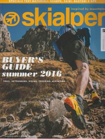 SKIALPER. PRIMAVERA/ESTATE 2016. N. 105