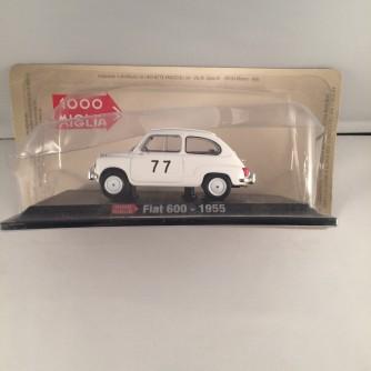 Modellino FIAT 600 - 1955 - Scala 1:43 + fascicolo by Hachette