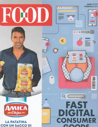 "FOOD mensile n. 2 Febbraio 2017 ""Fast digital consumer GOODS"