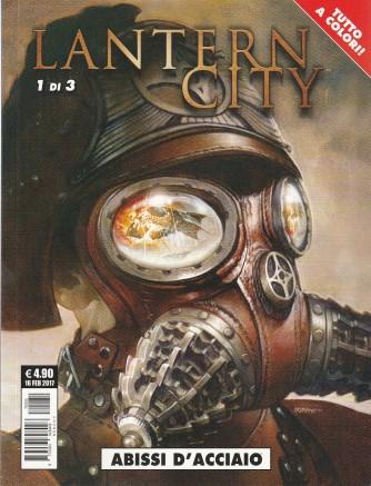 """Cosmo Serie Pocket - Lanter city n. 1 di 3 """" Abissi d'acciaio"""""""